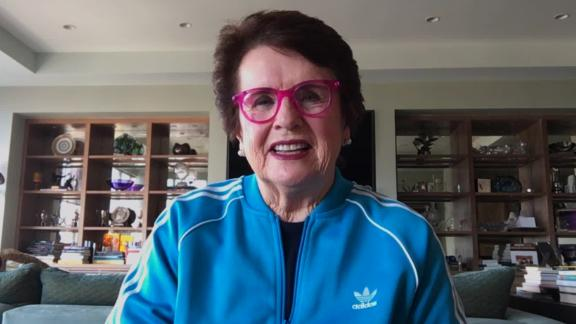 Image for Billie Jean King 'thrilled' tennis center being used as emergency hospital in fight against coronavirus