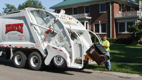 Rumpke Waste & Recycling has hired new employees in the last week to handle a massive influx in household trash.