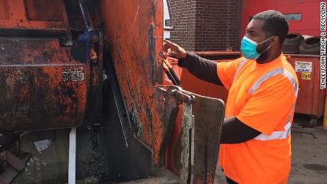 'It's just a nightmare.' Trash collectors overwhelmed by rising amount of household waste