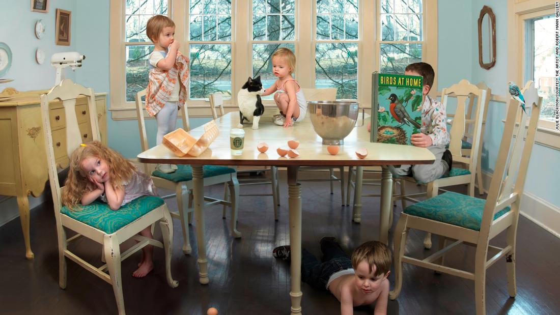Charming, chaotic scenes of family life in small-town America
