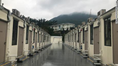 What it's like inside a Hong Kong coronavirus quarantine camp