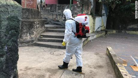 The Brazilian favela resident who saw coronavirus coming