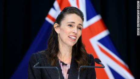 Prime Minister Jacinda Ardern speaks to media during a press conference at Parliament on April 9, 2020 in Wellington, New Zealand.