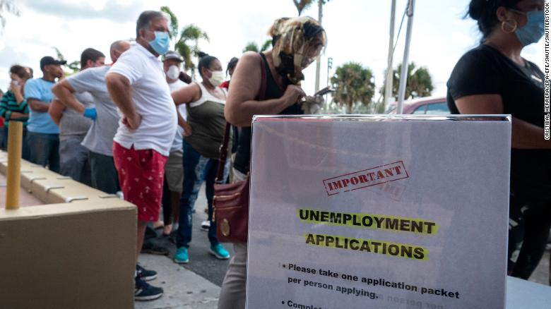 Unemployment benefits: Another 6.6 million Americans filed for ...