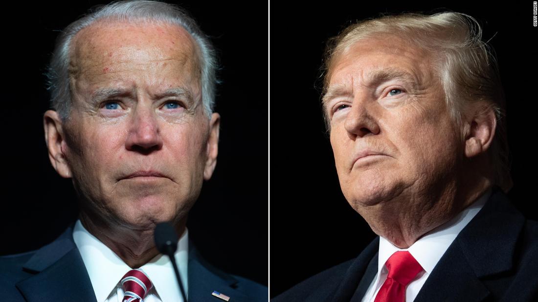 Where Trump is trouncing Biden