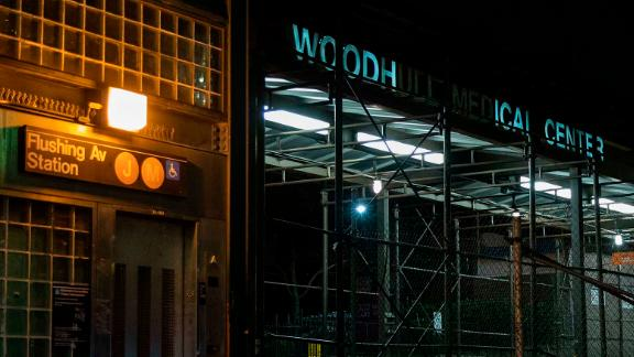 The Woodhull Medical and Mental Health Center in Brooklyn is where an 86-year-old woman with dementia died.