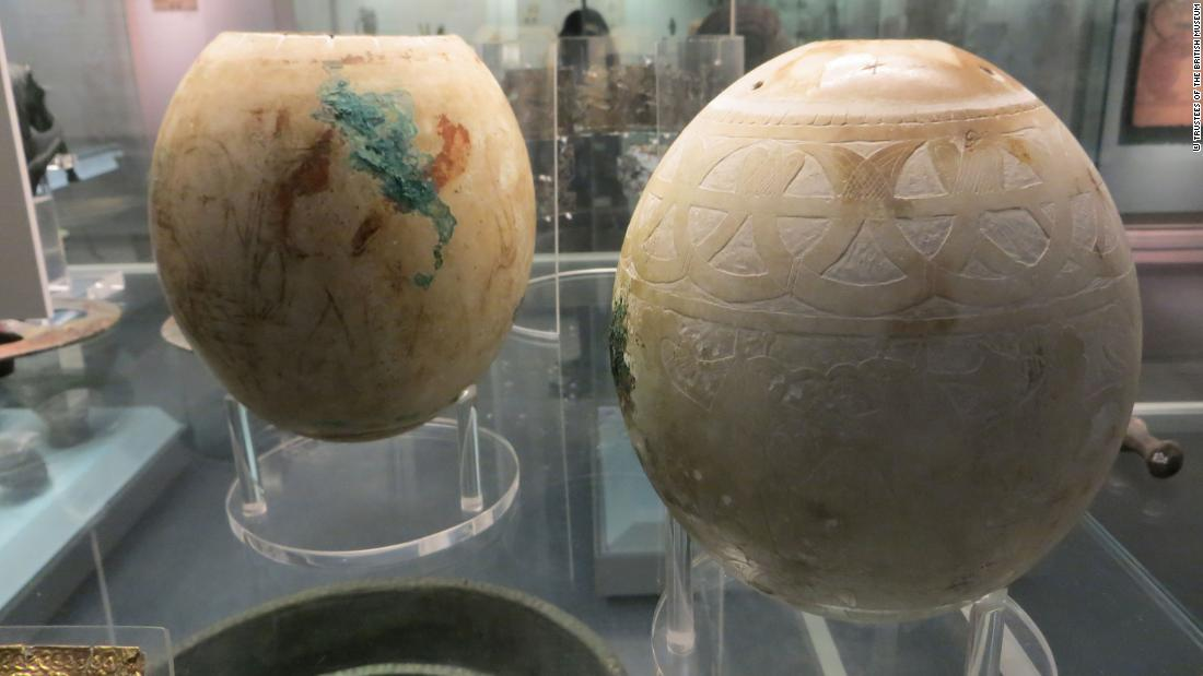 People painted and sold ostrich eggs thousands of years ago. We may finally know how they did it