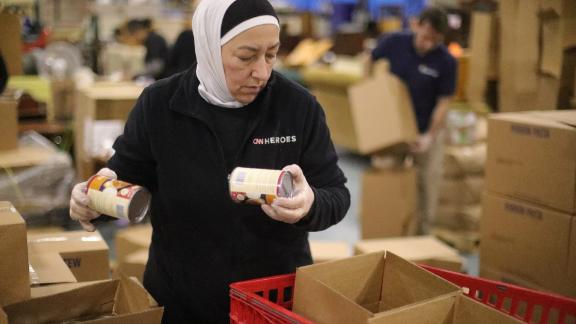Najah Bazzy's group is making sure struggling families in their Detroit community have the support they need.