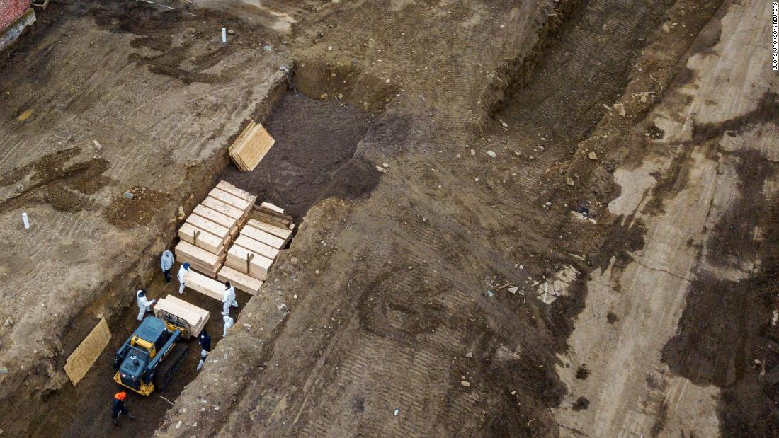 Coronavirus victims whose bodies are unclaimed by loved ones may be buried in New York's Hart Island, officials say