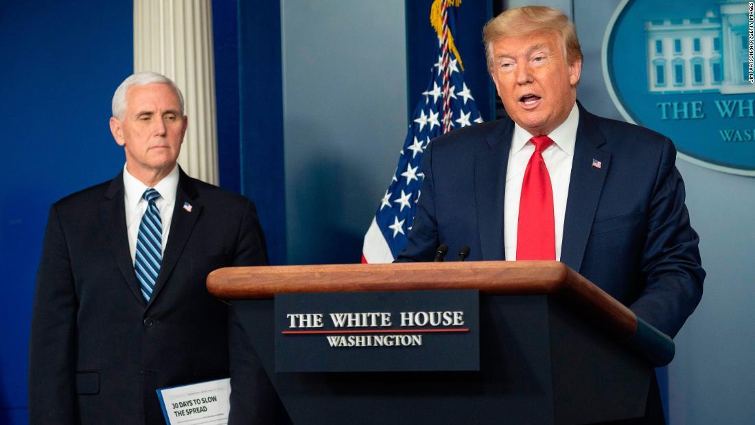 Trump: Presiden klaim massa pengujian tidak diperlukan
