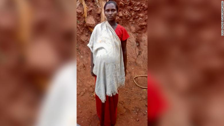 Pollama said she was stopped by higher caste community members as she tried to walk one kilometer to the market for food.