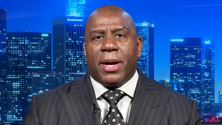 Magic Johnson says beating coronavirus should include tackling ...