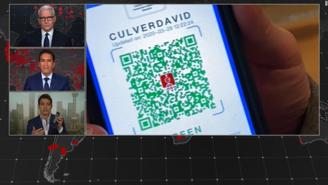 How China's Covid-19 tracking app works