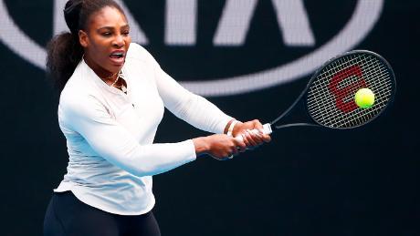 Serena Williams este la un titlu pentru a se potrivi cu recordul de toate timpurile al Margaret Court în single-uri (24).