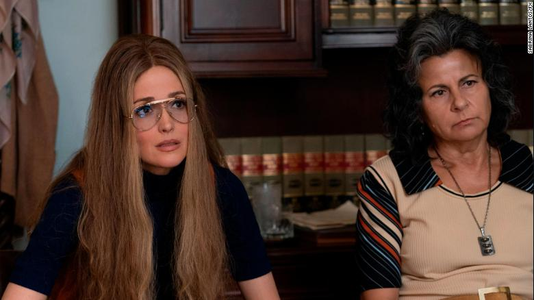 Rose Byrne as Gloria Steinem, Tracey Ullman as Betty Friedan in 'Mrs. America' (Sabrina Lantos/FX)
