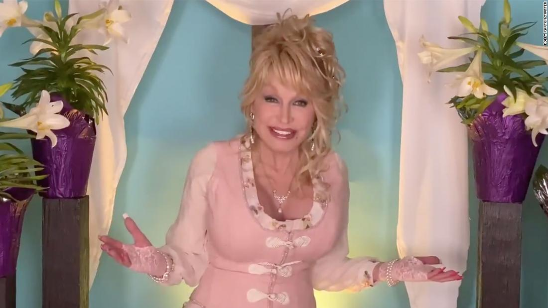 "WATCH: Dolly Parton Reminds Fans That 'the Kingdom of God is Within', Celebrates Easter With Solo Performance of ""He's Alive"""