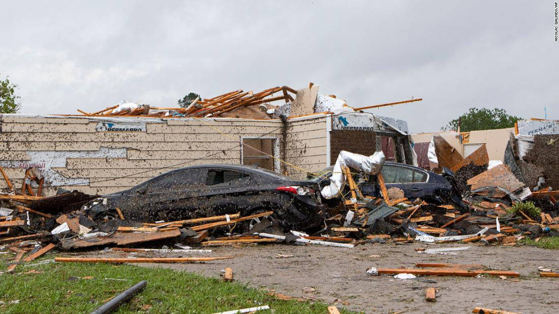 Coronavirus pandemic adds to disaster of Southeast tornado destruction