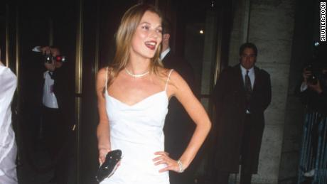 Mandatory Credit: Photo by Shutterstock (239676b) Kate Moss CFDA Fashion Awards, New York, America - Feb 1995