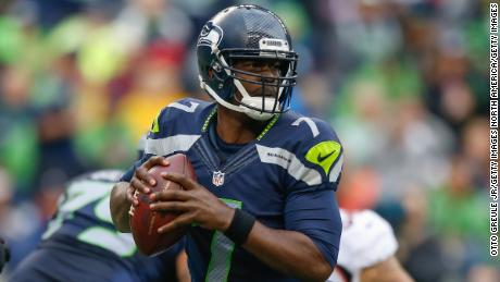 Former quarterback Tarvaris Jackson of the Seattle Seahawks was killed Sunday.