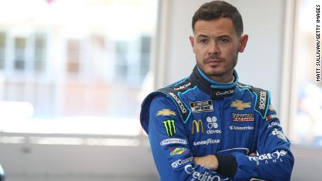 NASCAR's only African American driver says Kyle Larson deserves a second chance