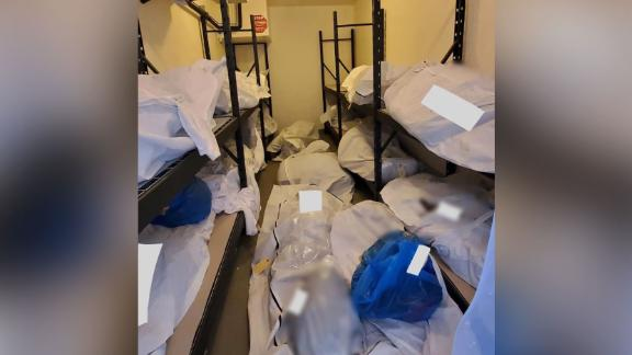 Image for Photos show bodies piled up and stored in vacant rooms at Detroit hospital