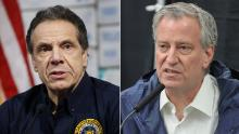 Cuomo and de Blasio can & # 39; It doesn't end - even for coronavirus