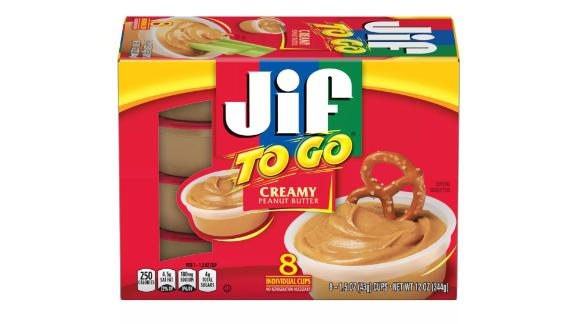 Jif To Go Snack Cups, 8 ct