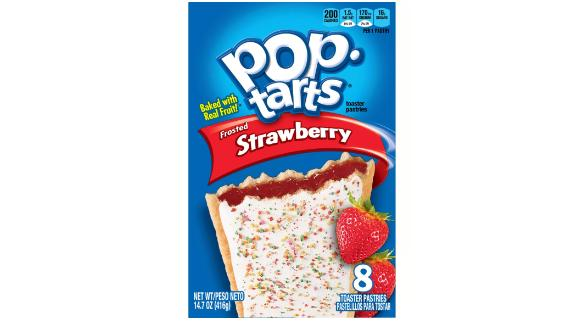 Pop-Tarts Frosted Strawberry, 8 ct