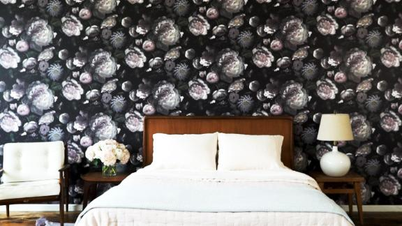 Tempaper Moody Floral Removable Wallpaper
