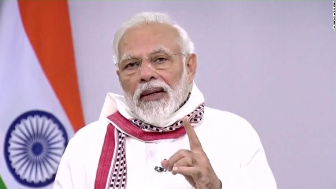 India's Modi extends lockdown until May 3