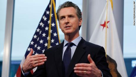 California governor outlines plan to reopen in conjunction with West Coast states