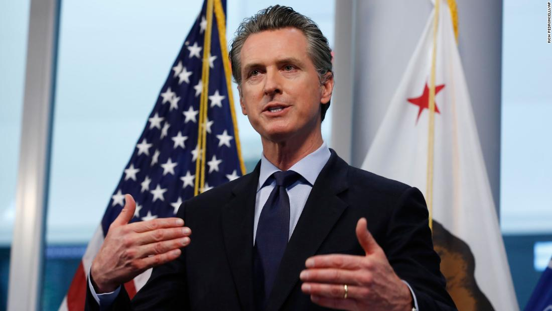 California governor outlines plan to reopen in conjunction with West Coast states thumbnail