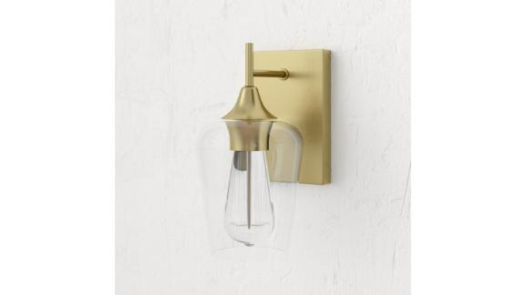 Mercury Row Hickerson 1-Light Dimmable Armed Sconce