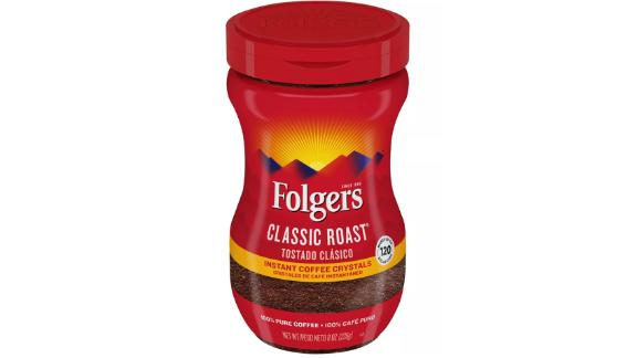 Folgers Classic Medium Roast Instant Coffee