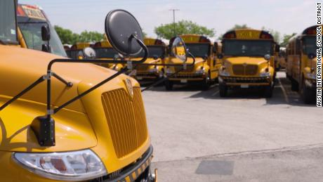 Buses at the Austin Independent School District are now equipped with WiFi.