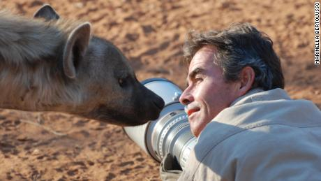 Wildlife photographer Kim Wolhuter gets up close and personal with his subjects