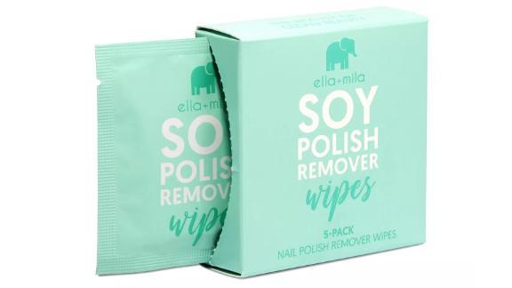 Ella + Mila Soy Nail Polish Remover Wipes
