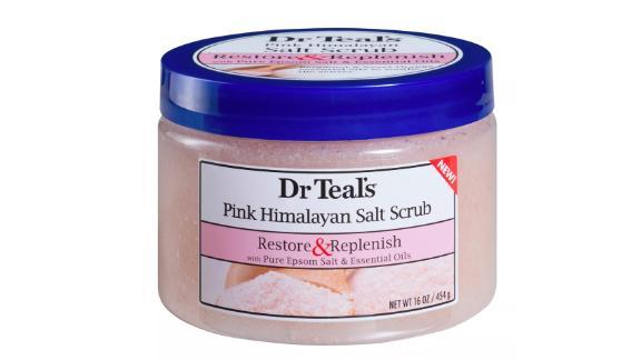 Dr Teal's Restore & Replenish Pink Himalayan Sea Salt Scrub
