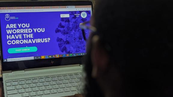 The website allows Nigerians to check if they are at high risk of contracting coronavirus