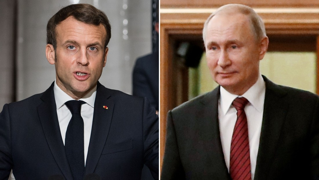 Emmanuel Macron Backs World Truce And Will Speak To Vladimir Putin About It Cnn