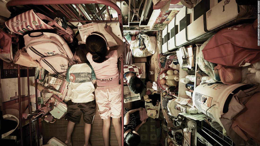 Hong Kong's cage homes are almost impossible to self-isolate in