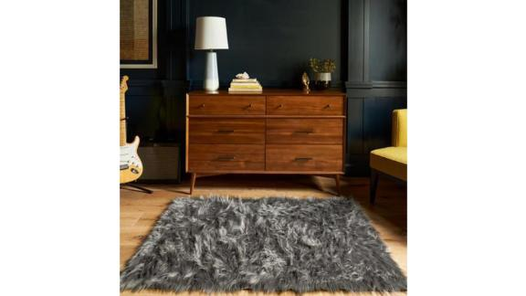Ruggable Stormy Grey Shag Rug