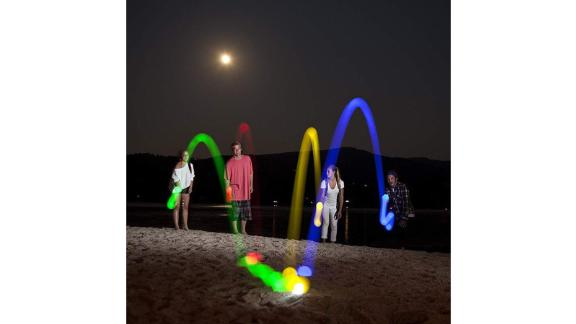 TrekLightGear Light Up Bocce Ball Set