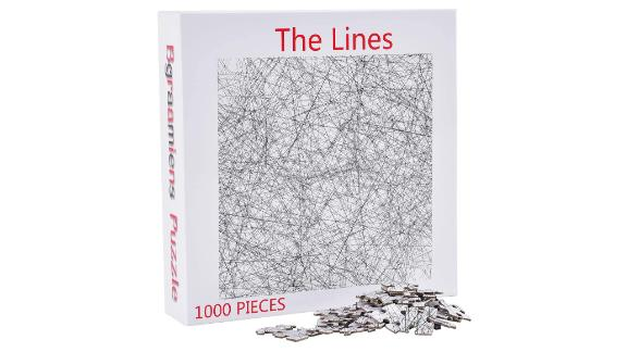 Bgraamiens The Lines Puzzle