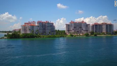 Fisher Island was known for its coconut palms and mangrove concentrations.