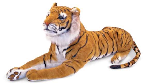 Melissa & Doug Tiger Plush Toy