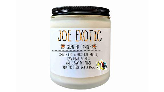 Joe Exotic Scented Candle
