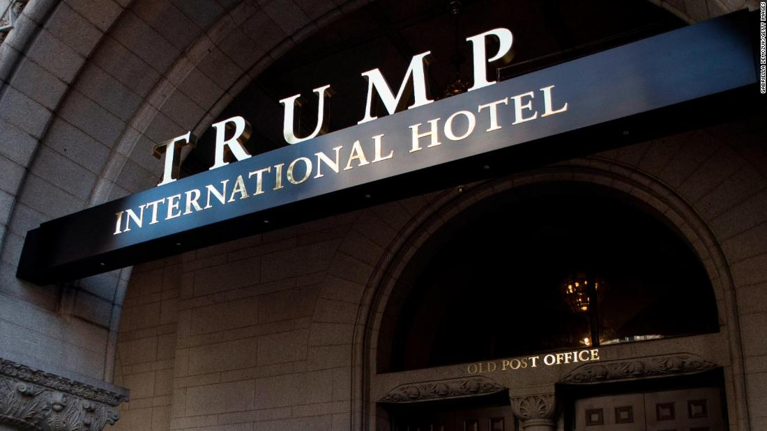 Biden administration gives House panel documents related to Trump hotel – CNN