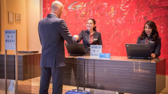 The World of Hyatt Credit Card is one of the best cards to use for stays at Hyatt properties.
