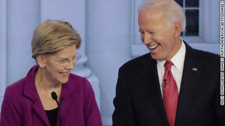 Elizabeth Warren says she'd serve as Biden's vice president if he asked